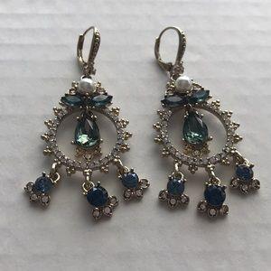 Marchesa Shaky Drop Blue Earrings